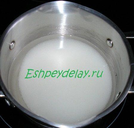 Вода с сахаром