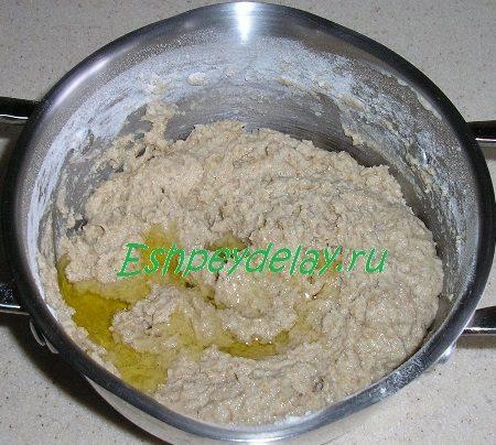 Тесто для оладий с маслом