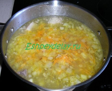 Зажарка добавленная в суп