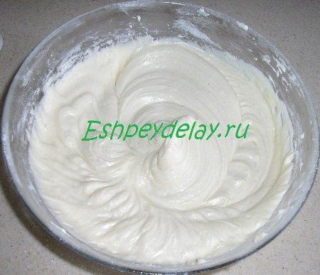 Готовое тесто для пирога с черешней