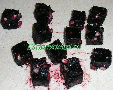 Порезанные конфеты