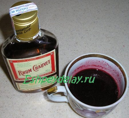 Сок с ромом