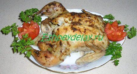Курица запеченая целиком