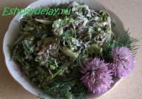 летний салат из морской капусты