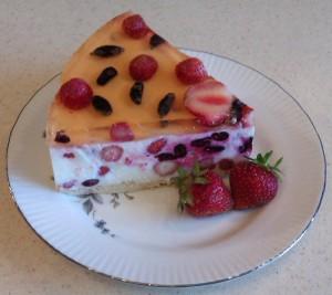 торт из ягод