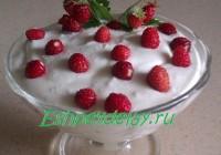 десерт из земляники