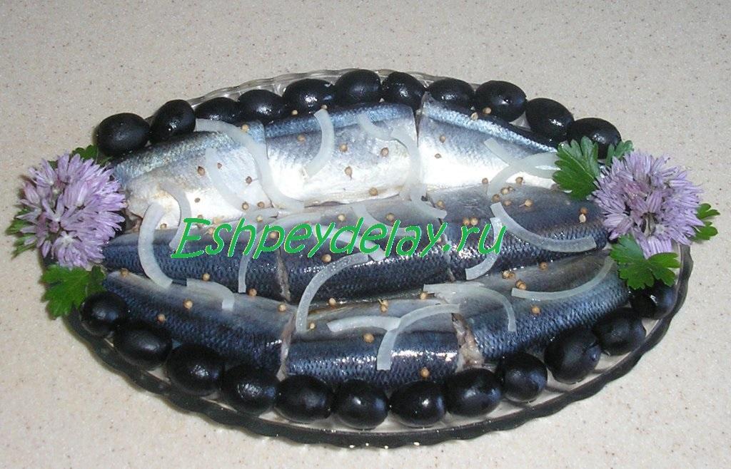 маринованная сайра
