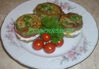 бутерброды с баклажанами