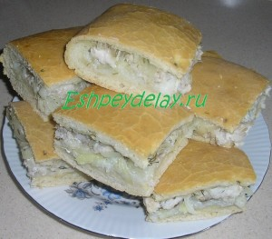 пирог из нельмы