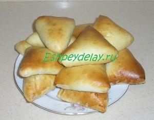 пироги с калиной