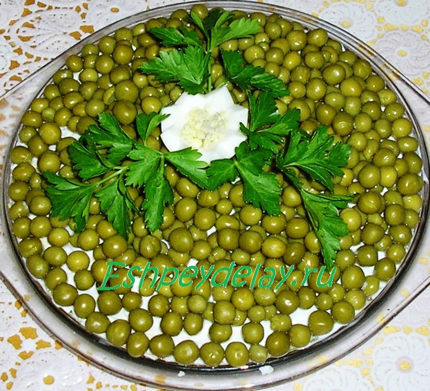 салат из шпрот рецепт с фото зале