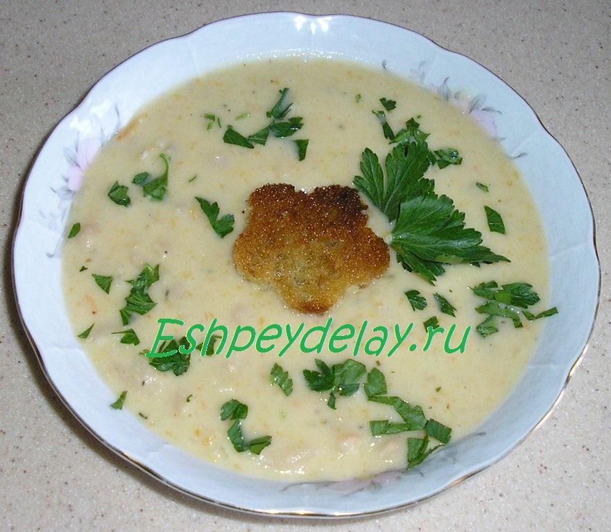 Тосканский суп из белой фасоли