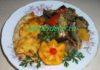 отбивная куриная грудка с помидорами