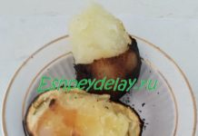 вкусная картошка на костре