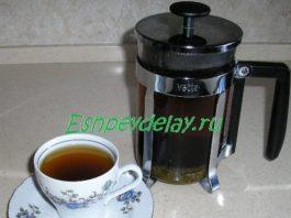 Заваренный капорский чай