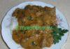 Бефстроганов из куриной печени