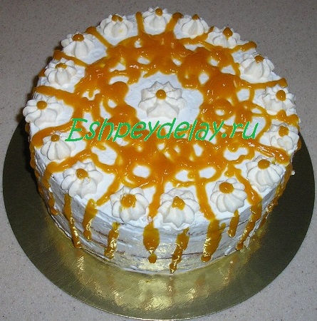 Торт Медовая тыква