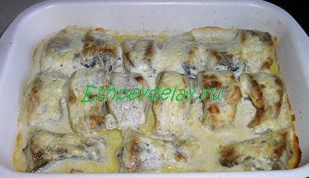 Готовое блюдо из щучки