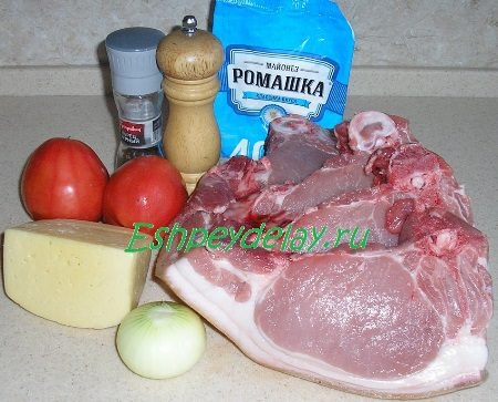 Рецепт антрекота из свинины в духовке