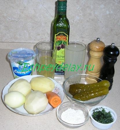 Рецепт рассольника по - польски