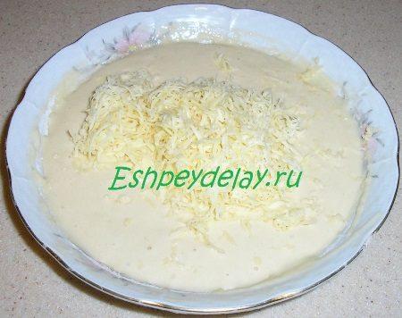 Добавляем сыр