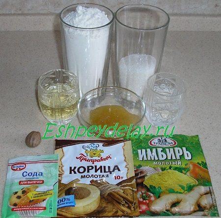 Рецепт печенья на меду