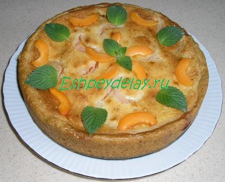 Пирог из абрикоса