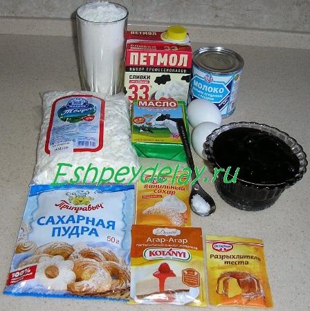 Рецепт торта Анютины глазки