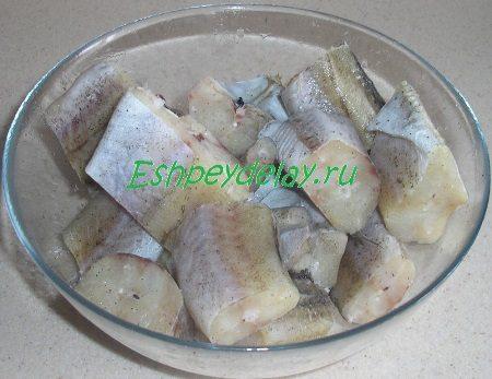 Рыба в миске