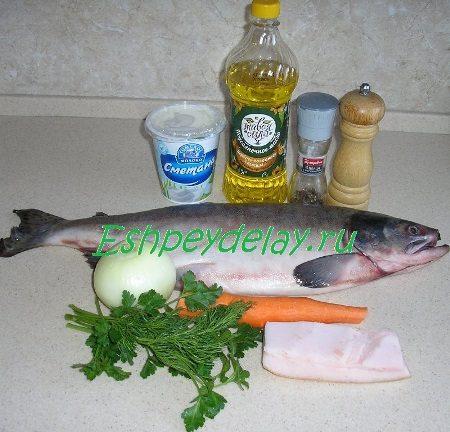 Рецепт фаршированной горбуши