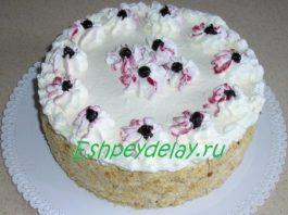 Торт Анютины глазки