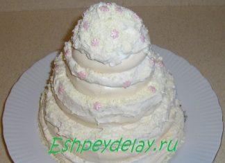 Торт – безе «Монблан»