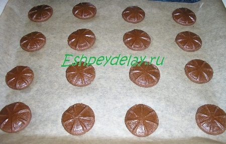 Придавленные стаканом печеньки