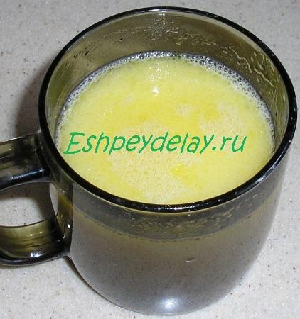 Яичная смесь для теста