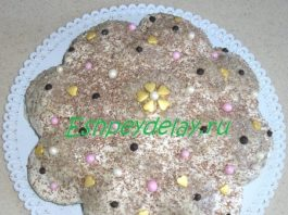 Торт из пряников «Загадка»