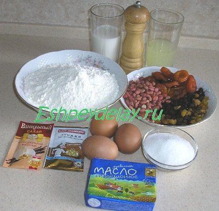 Рецепт пасхальный венок с тремя начинками