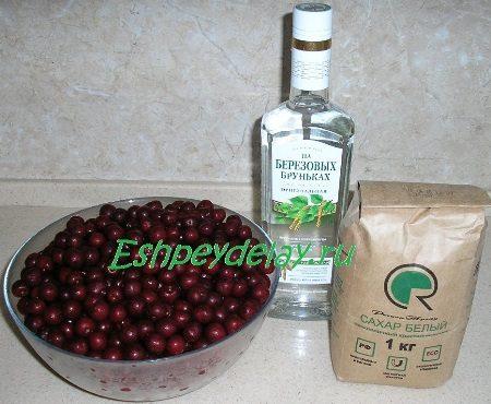 Рецепт вишнёвой настойки