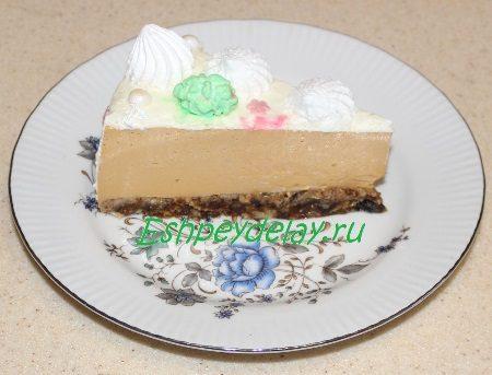 Мышкин торт в разрезе