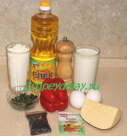 Рецепт лепёшки с сыром