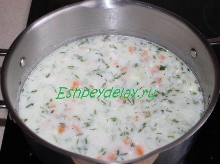 """Готовый суп """"Ланжерон"""""""