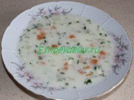 Суп « Ланжерон»