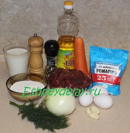 Рецепт рулета из печени