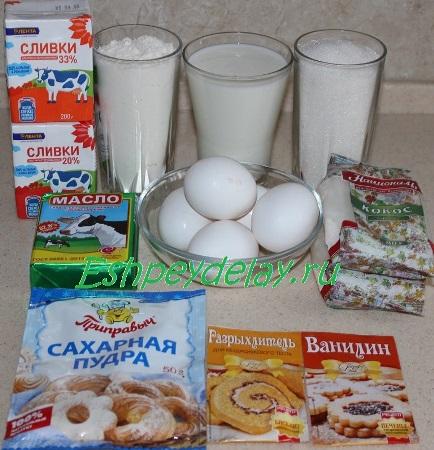 """Рецепт торта """" Райское наслаждение"""""""