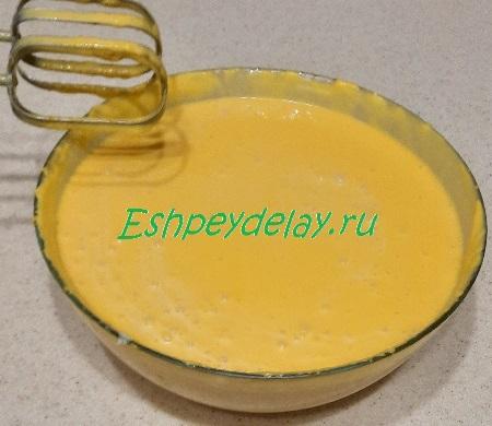 Смешиваем с желатином