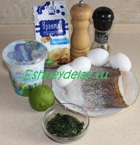 рРецепт финского рыбного пудинга.