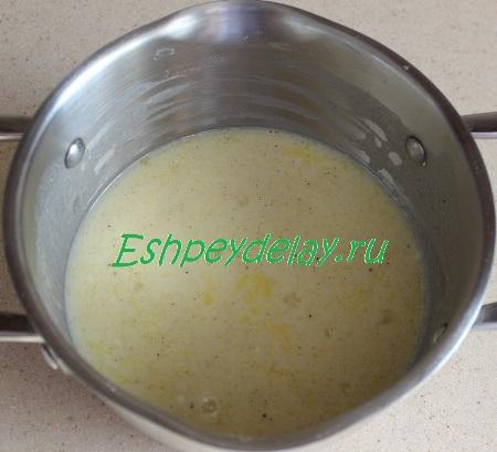 Смесь для заварного крема
