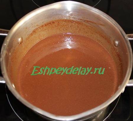 Готовый шоколадный крем