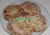 Азиатские блинчики из тыквы с кунжутом