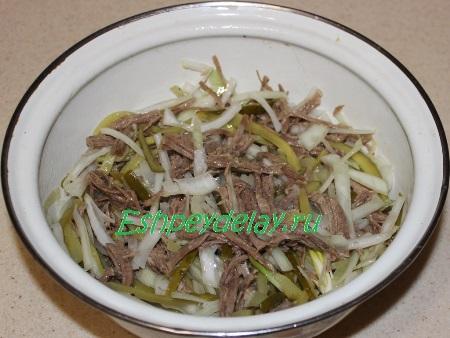 Перемешаем салат