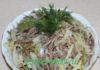 Салат «Шахтёрский» с маринованными огурцами